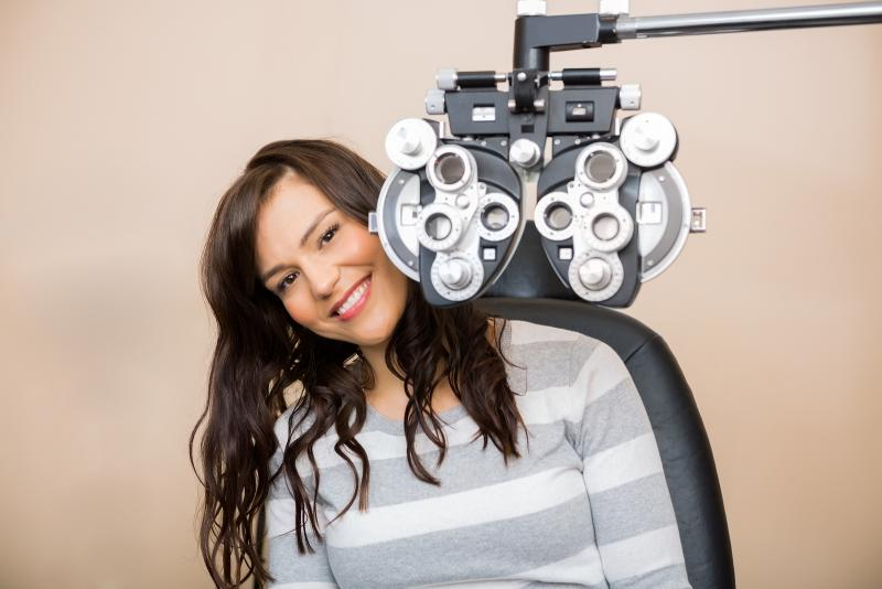 woman getting services at Arena Eye Care, Inc in Sacramento, CA
